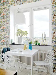 Кухня в цветочек — Интерьеры — MyHome.ru