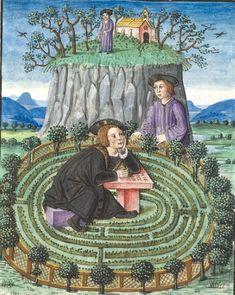 François Habert (?) Titre Amant infortuné (L') Langue français Nomenclature Roman CHANTILLY, Bibliothèque du château, 0508 (1489)