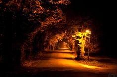 Wallpapers com fotogênica paisagem da meia-noite