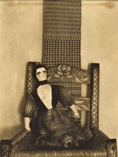Doll In Chair, Mexico, 1925  Edward Weston