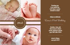 1st Birthday Invitation Wording And Party Ideas For James Free