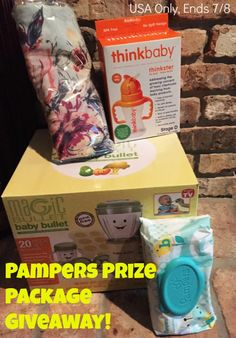 Pampers Prize Package #Giveaway!! (ends 7/8)   http://africasblog.com/2015/06/30/pampers-prize-package-giveaway/