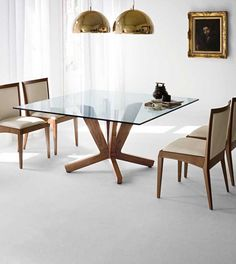 The amazing Goblin square dining table is just perfect for a contemporary small dining room. ➤ Discover the season's newest designs and inspirations. Visit us at www.moderndiningtables.net #diningtables #homedecorideas #diningroomideas @ModDiningTables