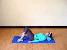Foam Roller Neck Release: An effortless massage for your neck that feels great! | via @SparkPeople