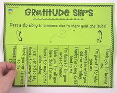 5 Ways to Encourage Gratitude with a GREAT FREEBIE to use!