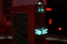 Magical Glow-In-The-Dark Bookmarks By Manon Richard | Bored Panda