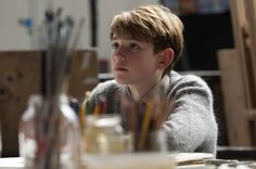 this little boy is so cute. tommy from never let me go.