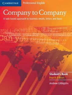 Company to Company Student's Book