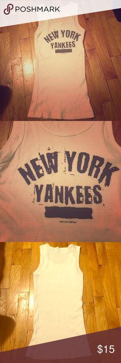 New York Yankees tank New!!! Tank. Small. 100% cotton. Tops Tank Tops
