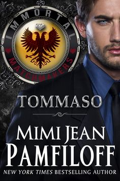 TOMMASO, Book #2 of the IMMORTAL MATCHMAKERS SERIES.  COMING May 24th, 2016.