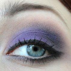 Violet smokey eye w/ Sugarpill!