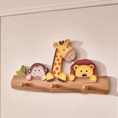Kids Children's Sunny Safari Wall Peg Hooks Coat Hanger Rack for sale online Coat Hanger Hooks, Peg Hooks, Wall Mounted Coat Rack, Coat Pegs, Wooden Wall Hooks, Wooden Coat Hangers, Wooden Walls, Diy Furniture To Sell, Magic Garden