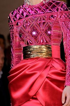 Just Gorgeous: The Jewelry Dress by @Balmain source @ICON-ICON