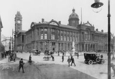 #ThrowbackThursday - Victoria Square and the Council House from around 100 years ago.
