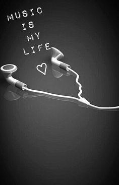 La musica es mi vida-The music is my life Music Wallpaper, Tumblr Wallpaper, Wallpaper Quotes, Iphone Wallpaper, Trendy Wallpaper, Music Is Life, My Music, Music Drawings, Music Backgrounds