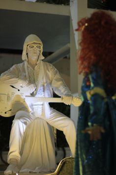 La notte di Halloween 2012 in Lincoln Road, South Beach, Miami