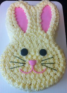 Easter Rabbit Cake by Dessert Menu