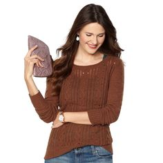 FOSSIL® Clothing Sweaters: Hannah Sweater WC2668