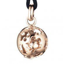 """Roberto Giannotti Rose Gold """"Chiama Angeli"""" Pendant - #robertogiannotti #gold #pendant #charm #kairosjewellery"""
