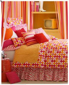 miss p room on pinterest teen bedding orange bedding and orange