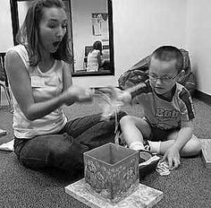 How To Make Yourself Reinforcing When Working With Children With Autism ...In the beginning, place low or no demands in order to build a rapport with the child. This is achieved with following the child's lead during play and making fun contingent on your presence.