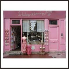 Paris Boutique Attention females....that's what this little store is about and yes another shop to browse through.