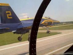 Cockpit Video of Blue Angels Flight.  Beautiful Footage:) Take an Amazing 8 minute ride with these Amazing Pilots♥ Incredible!!