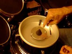Part 2  of this 3 part video series on how to convert an acoustic drum to an e-drum using a cake pan as the mounting structire for the triggers.  This conversion uses an inexpensive child drum kit as the donor drum to be converted into an e-drum trigger pad.  This cake pan method will work very welll for conversions that use a full size drum tha...
