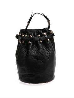 Diego textured-leather shoulder bag | Alexander Wang | MATCHES...