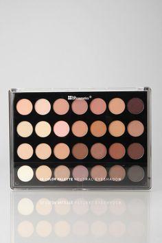 bh cosmetics 28-Shade Neutral Eye Shadow Palette $19