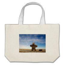 Prairie Strawman Jumbo Tote Bag
