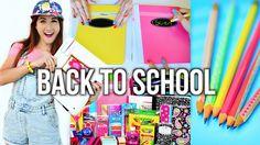 Back to school supplies haul 2014 + diy school supplies!!! by MayBaby