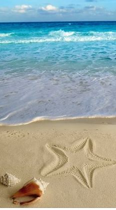 'A good day at the beach ends with sandy toes and a sunkissed nose!!!'