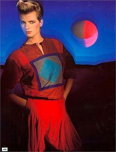 Hiro for Vogue Italia, marzo 1982
