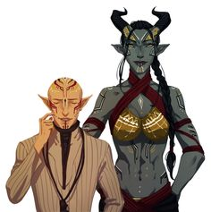 Solas and Inquisitor