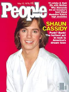 photo | 70s Music, Heartthrobs, Shaun Cassidy Cover, Teen Idols, Shaun Cassidy