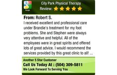 I received excellent and professional care under Brandie's treatment for my foot problems....