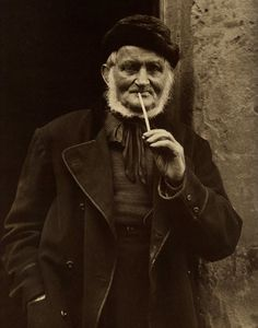 Retired from the Sea - Isaac Verrill of Staithes - North Yorkshire - England - Late 1800s