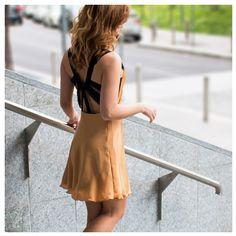 OPEN CROSS BACK SILK DRESS |Piece Of My Heart Dress Piece, Black Series, Piece Of Me, Silk Dress, Backless, Summer Dresses, Heart, Fashion, Silk Gown