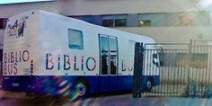Bibliobús Municipal de Málaga. De visita en el CEIP Parque Clavero