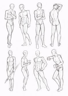 male standing poses drawing - Cerca con Google                                                                                                                                                     Más
