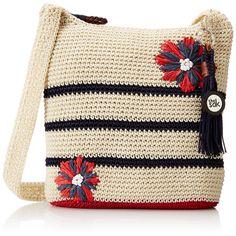 The Sak Casual Classics Crossbody Bag, Anthem Flower, One Size: Handbags: Amazon.com