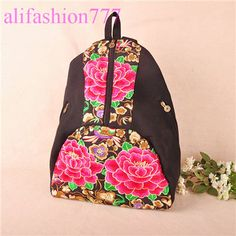 a05e3c76d956 alifashion777 wholesale Yunnan Ethnic Embroidery Handbags with top ...