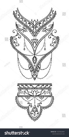 (notitle) - mandala - - Tattoo - Tattoo Designs For Women Mandala Tattoo Design, Dotwork Tattoo Mandala, Henna Tattoo Designs, Henna Mandala, Lotus Tattoo, Designs Mehndi, Henna Art, Tattoo Ideas, Tattoo Ink