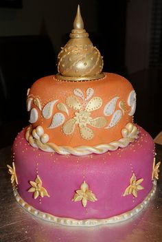 bollywood cake