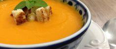 Sopa de Cenoura e Gengibre - SeEUfizVCfaz