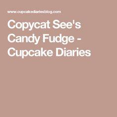 Copycat See's Candy Fudge - Cupcake Diaries