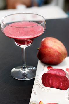 estratto di barbabietola e mela