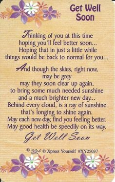 get well quotes for a special friend - Google Search