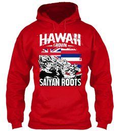 Super Saiyan Hoodie Shirt - FOR HAWAII FANS - TS00165HO